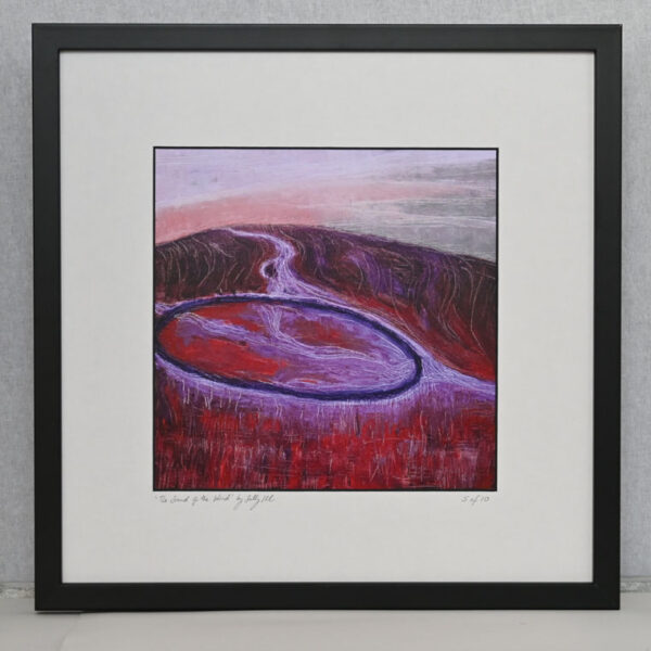 The Sound of The Wind by Sally Kirk, framed limited edition print