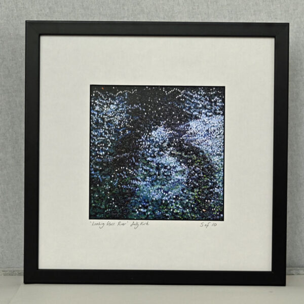 Looking Glass River by Sally Kirk, limited edition mounted print