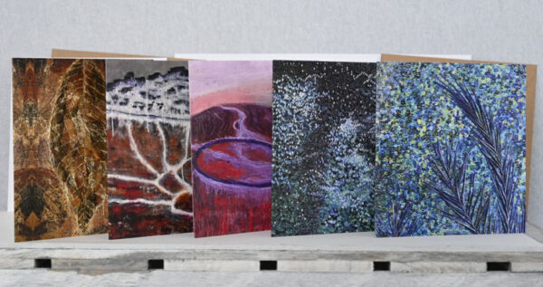 Multi pack, art cards and envelopes by Sally Kirk